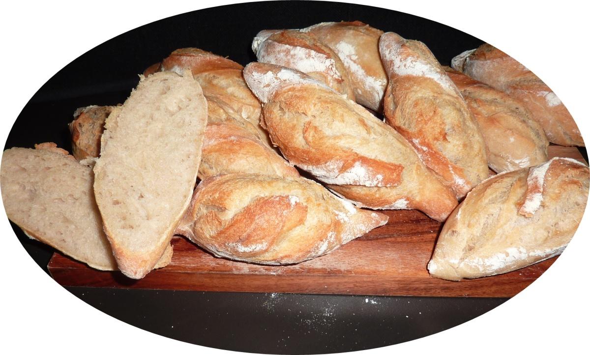 Baguettebrötchen-Unsere Lieblingsbrötchen für den Sonntag