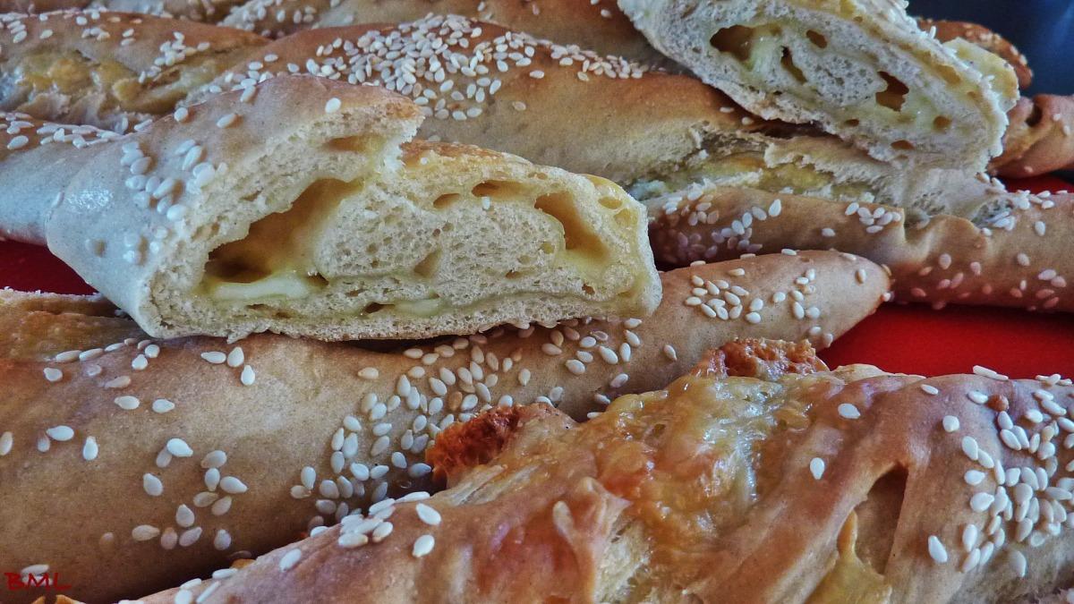 Knoblauch-Käse-Stangen...herzhaft lecker