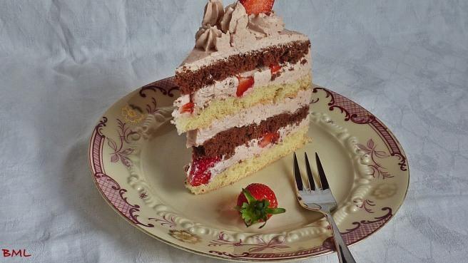 Erdbeerbuttercremetorte (44)