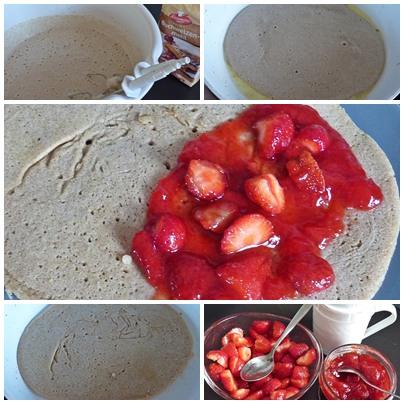 Buchweizenpfannkuchen
