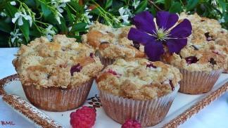 Himbeer-Haferflocken-Muffins mit Streuselcrunch (19)