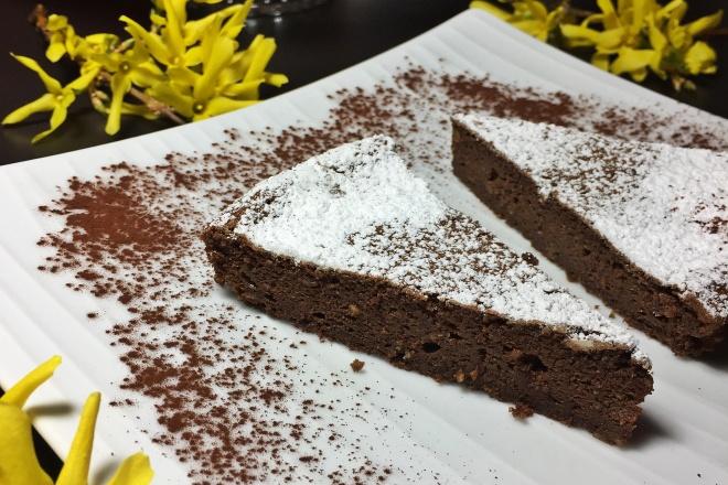 Schokoladentarte Glutenfrei Und Schnell Gemacht Backen Mit