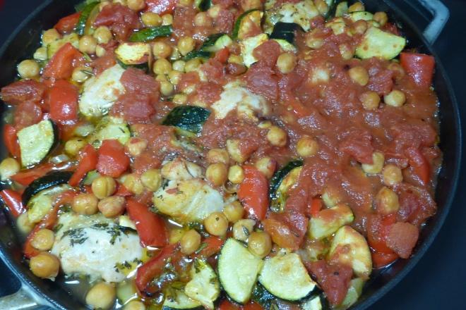 Hähnchen Gemüse Pfanne Aus Dem Ofen Backen Mit Leidenschaft