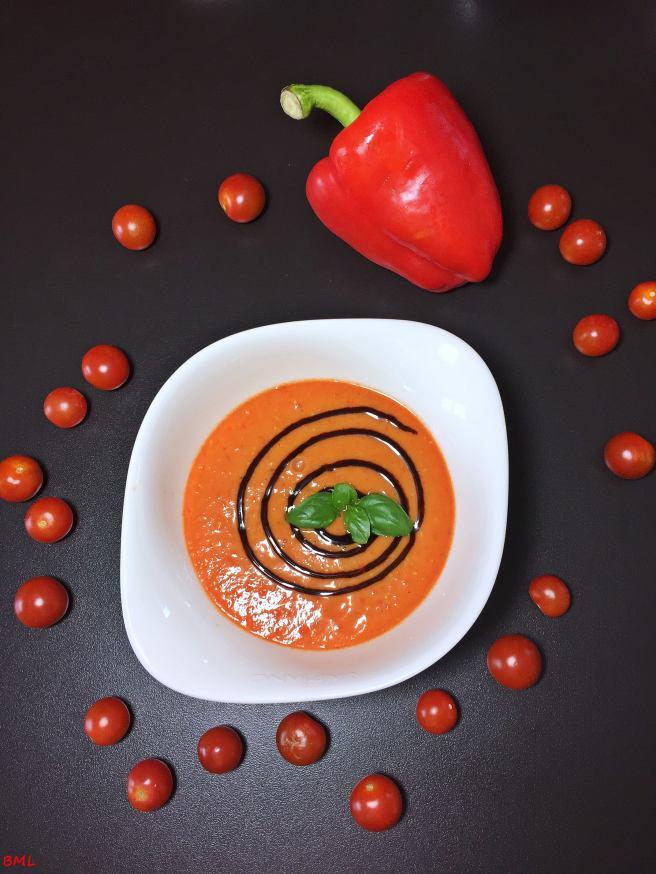 Tomaten-Paprikasuppe (2)