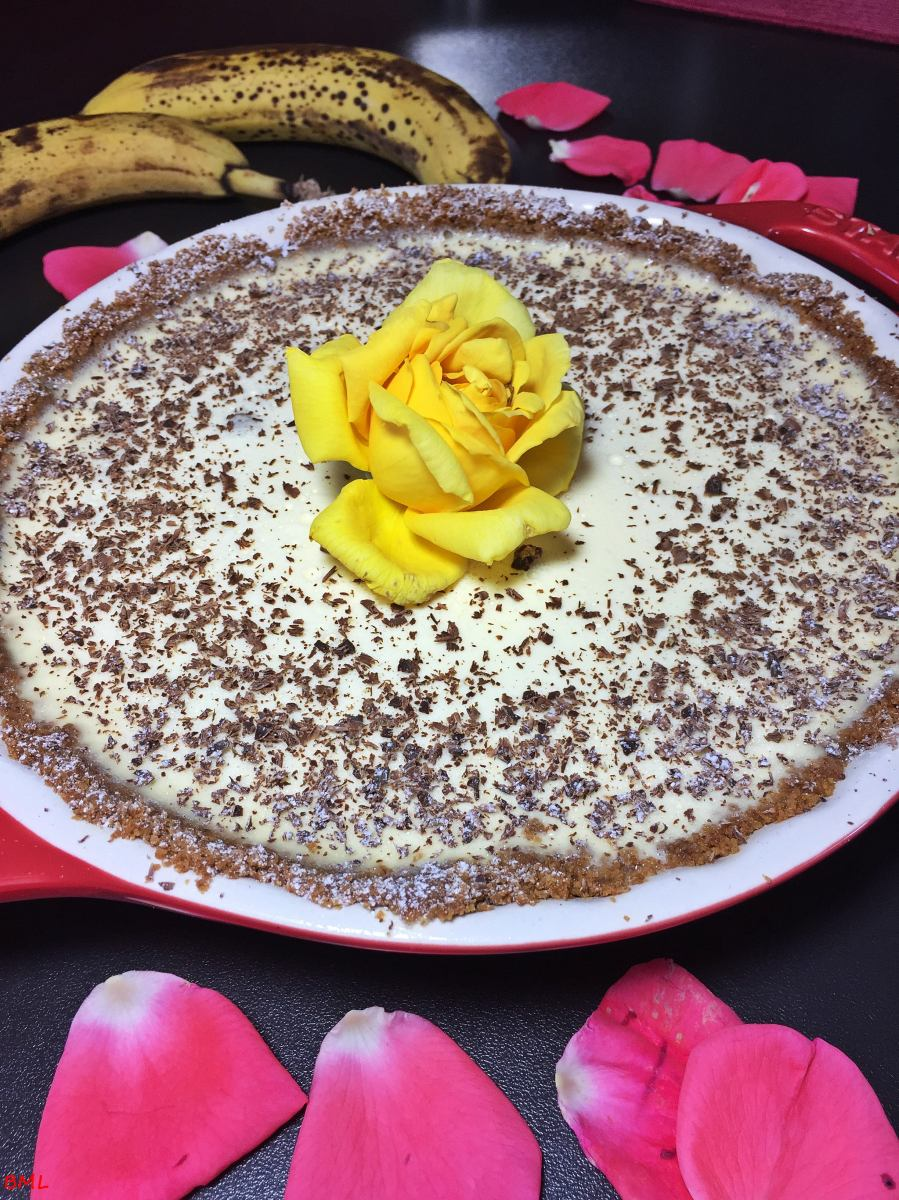 Panna Cotta -Bananen- Tarte