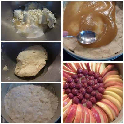 Apfel-Kirschkuchen1