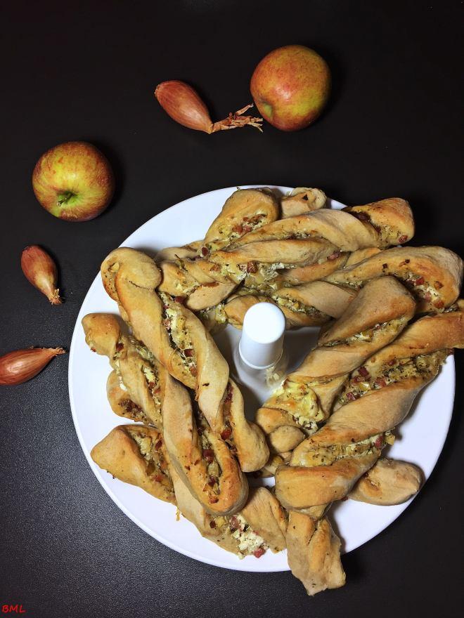 Apfel-Speckstangen (1)