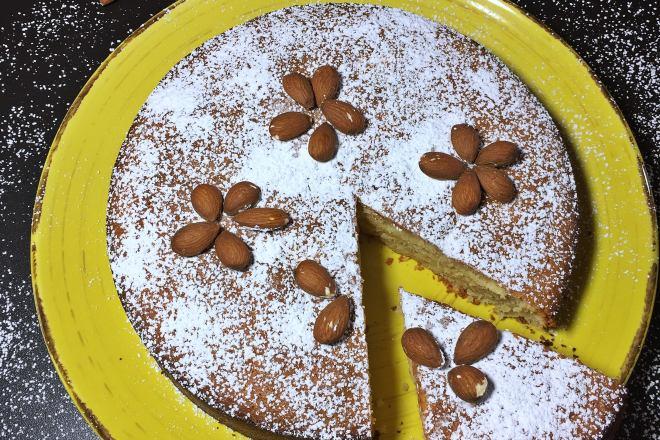 Mandel Zitronenkuchen Glutenfrei Backen Mit Leidenschaft