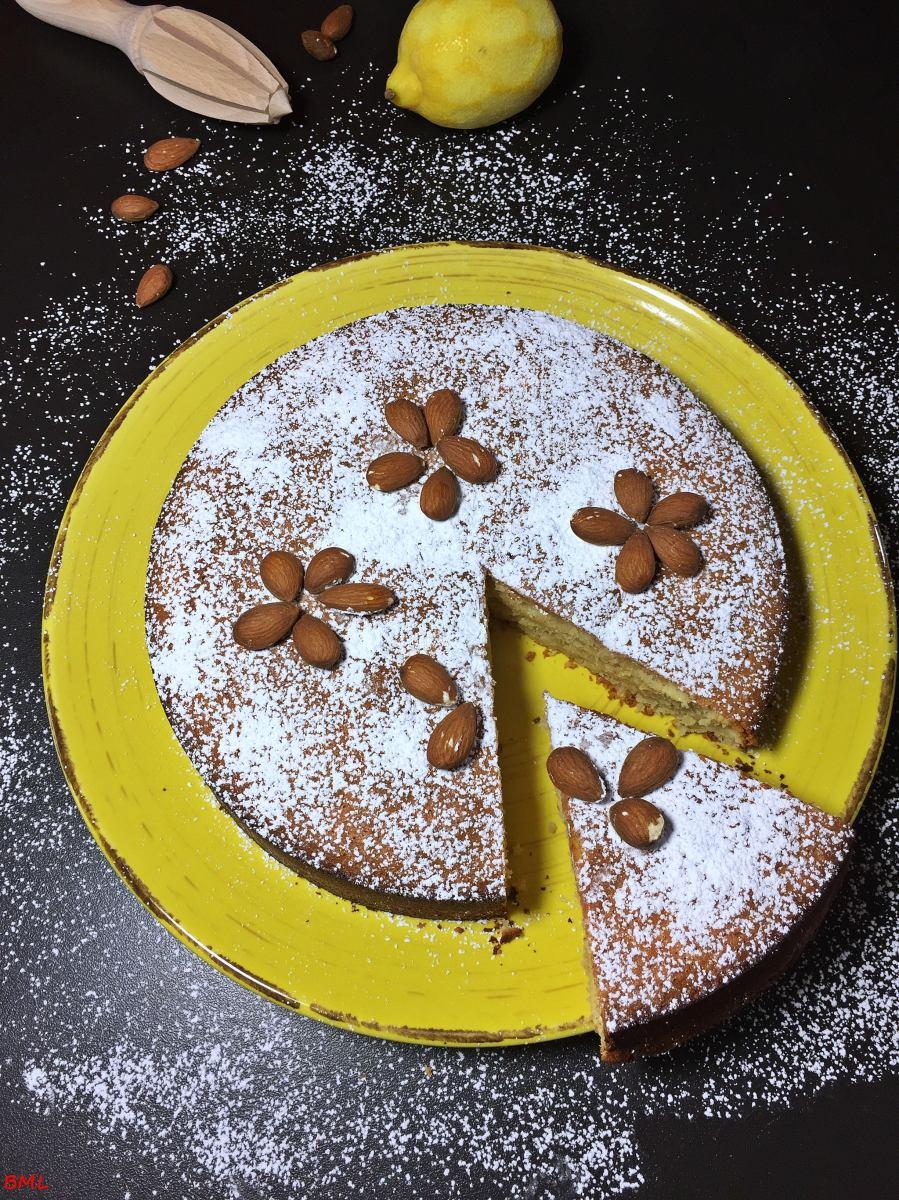 Mandel-Zitronenkuchen...glutenfrei