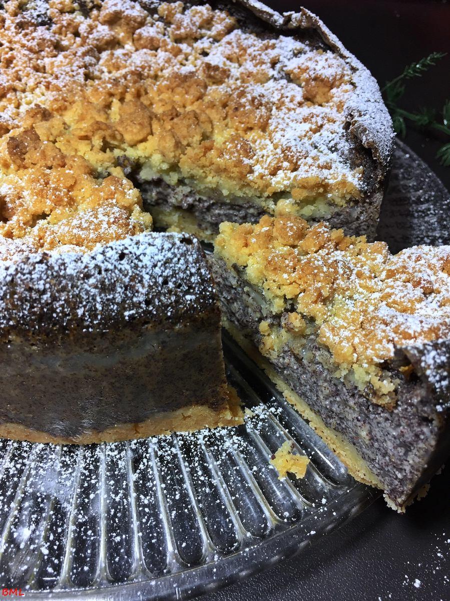 Mohnpudding-Streuselkuchen...einfach und gut