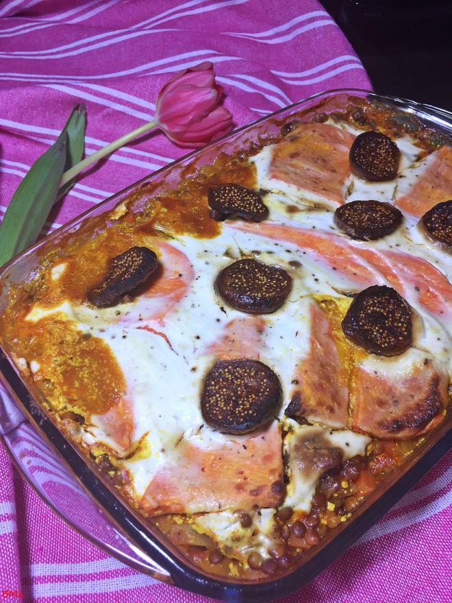 Süsskartoffel-Linsen-Lasagne (4)