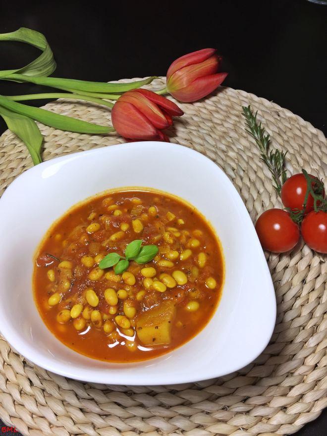 Mediterrane Bohnensuppe (5)