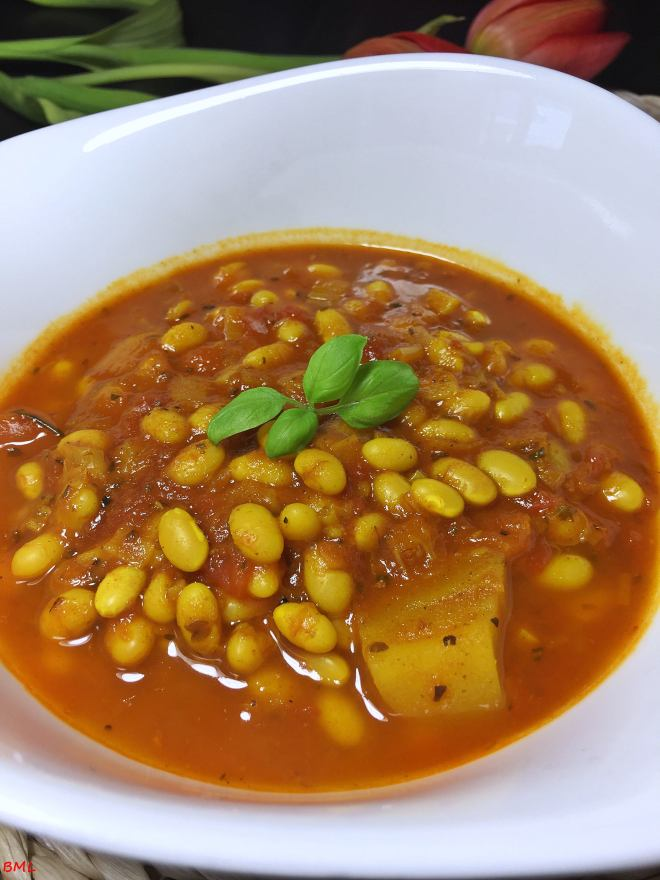 Mediterrane Bohnensuppe (6)