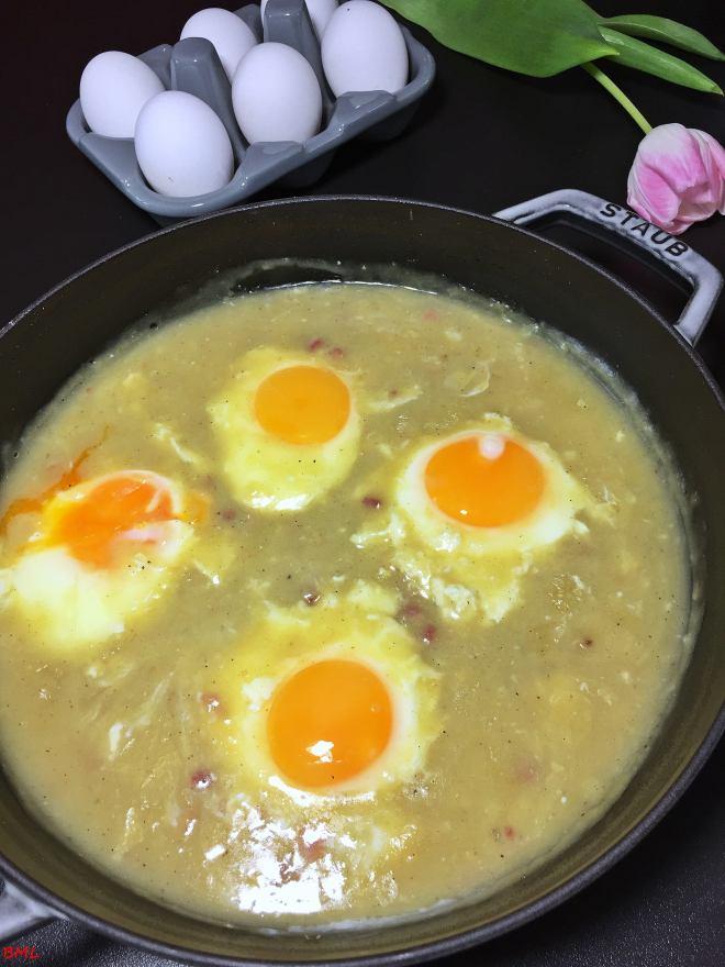 Süss-saure Eier (2)