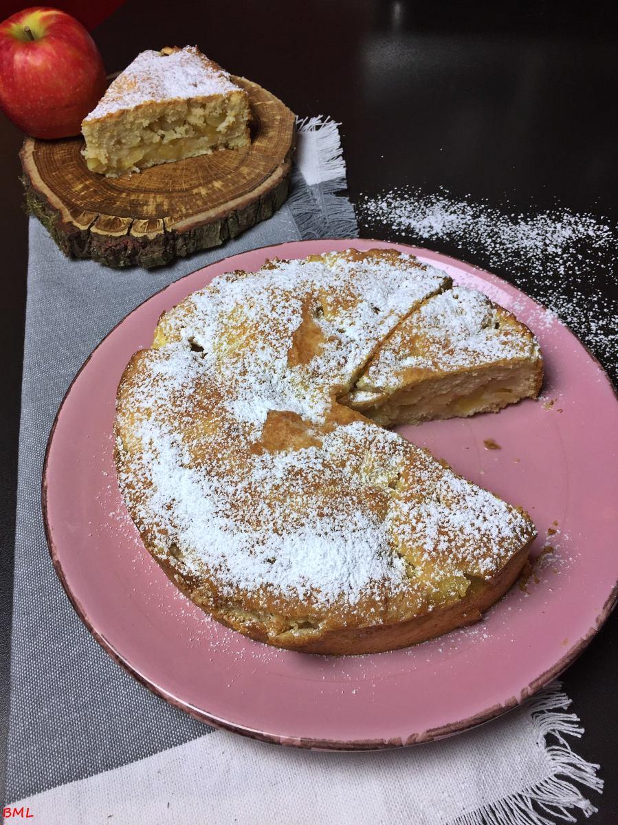 Apfelkuchen...Kerry Apple Cake, irisch lecker