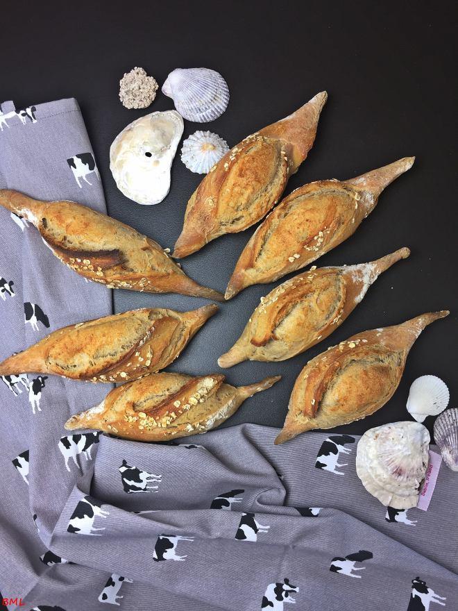 Baguettebrötchen Sauerteig (2)