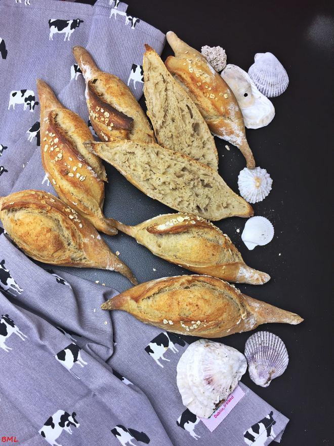 Baguettebrötchen Sauerteig (5)
