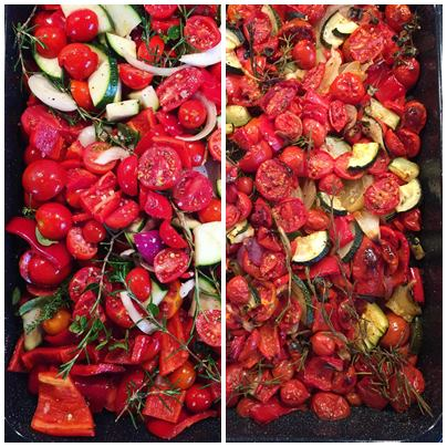 Ofengeröstetes Gemüse 3