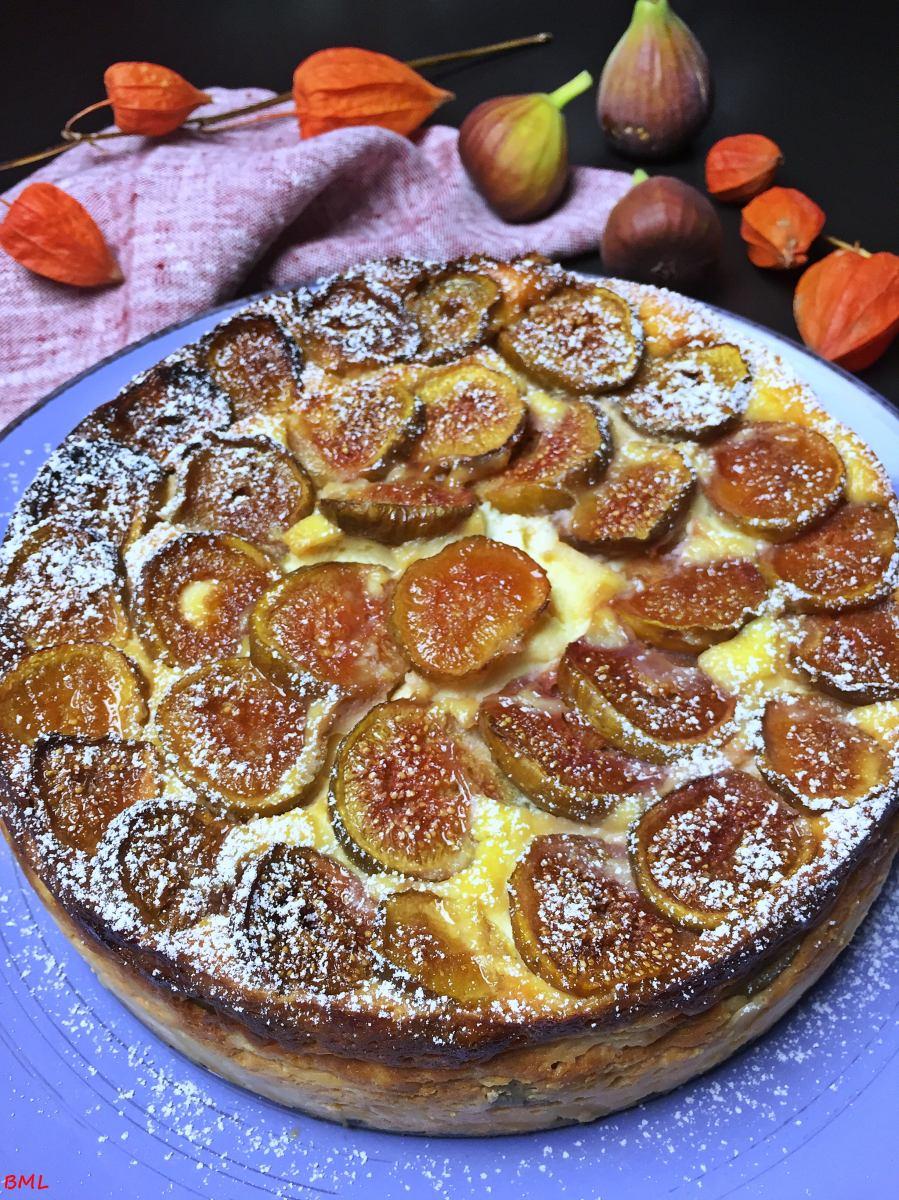 Ricotta Feigen Kuchen Fruchtig Frisch Backen Mit Leidenschaft