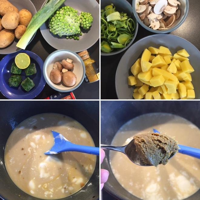 Kartoffelcurry