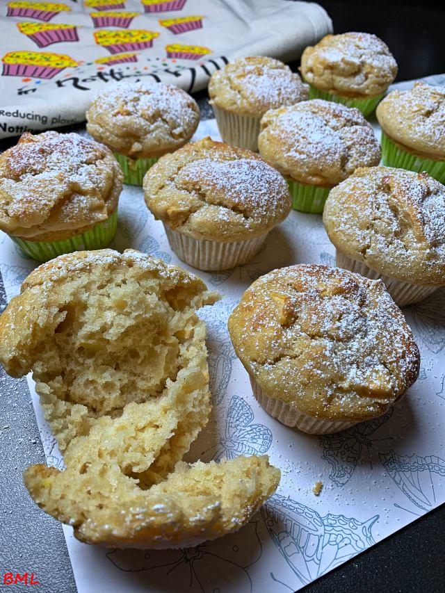 Muffins mit Äpfeln…unglaublich frisch und saftig