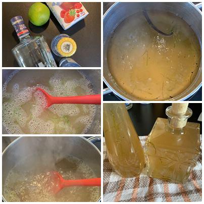 Gin-Tonic-Limetten-Sirup…eine kleine Erfrischung gefällig ?