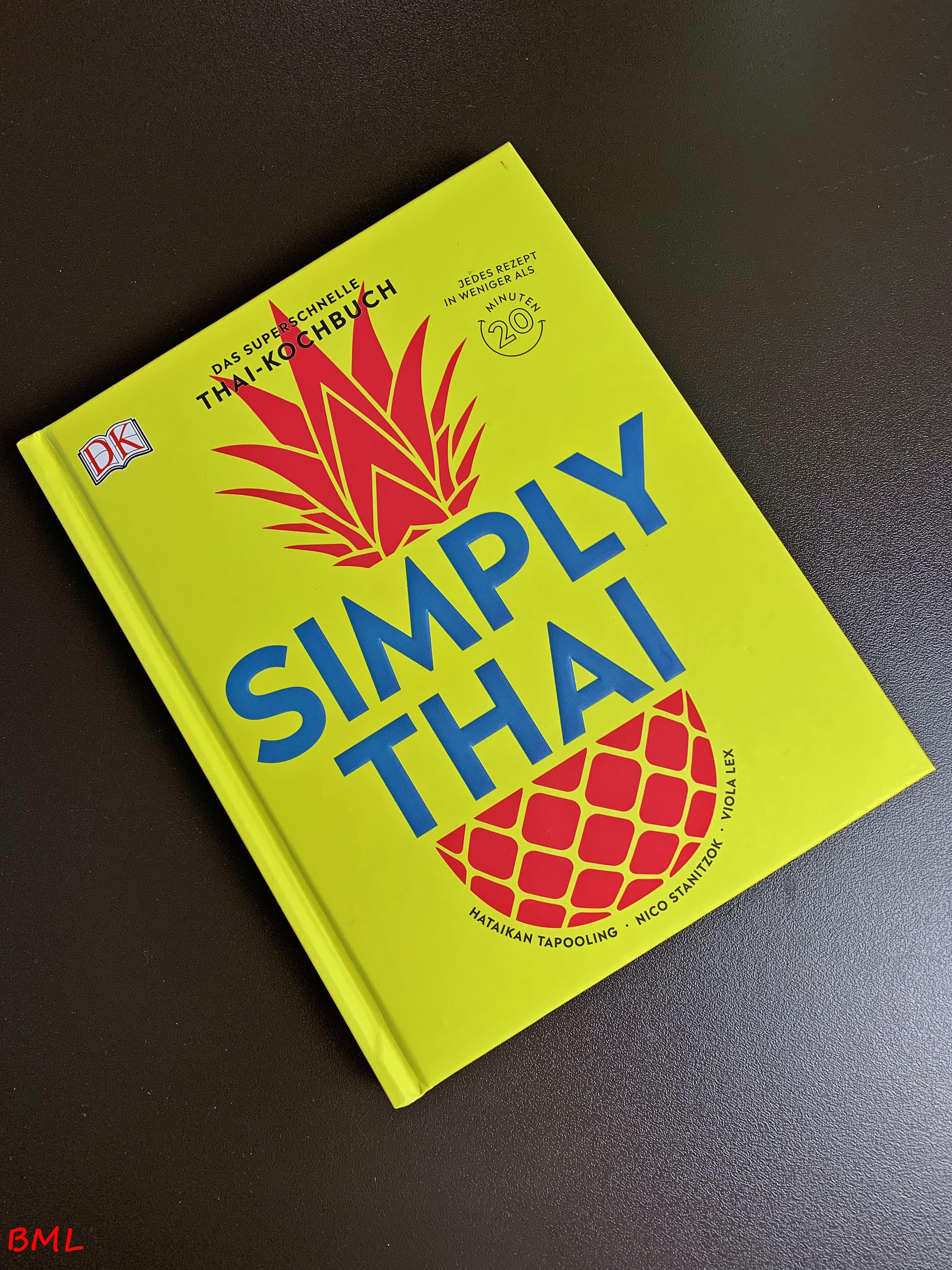Simply Thai…das superschnelle Thai-Kochbuch—Rezension