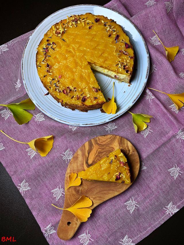 Kürbis-Cheesecake…herbstlich geniessen