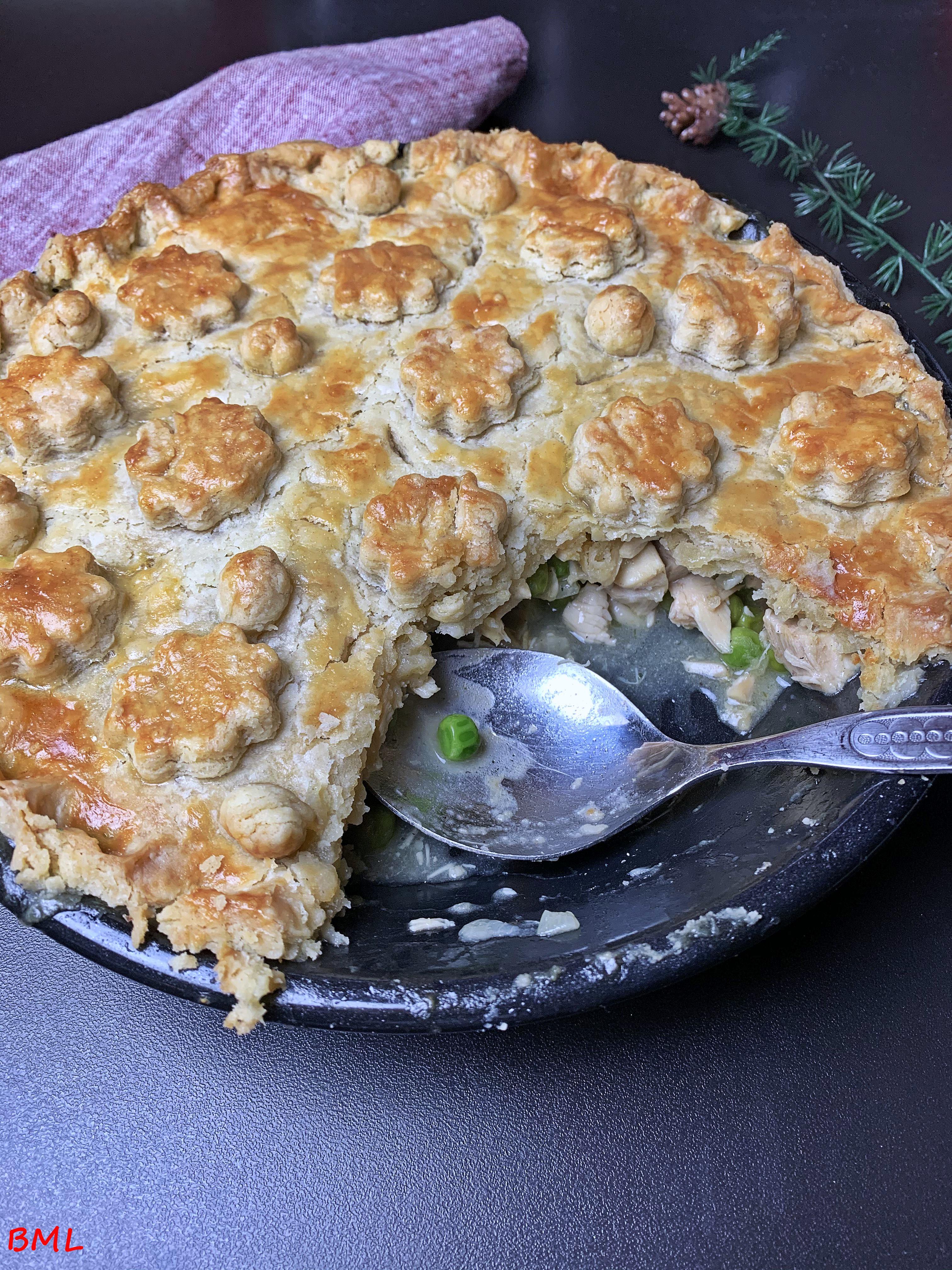 Chicken-Pot-Pie…köstliche Resteverwertung