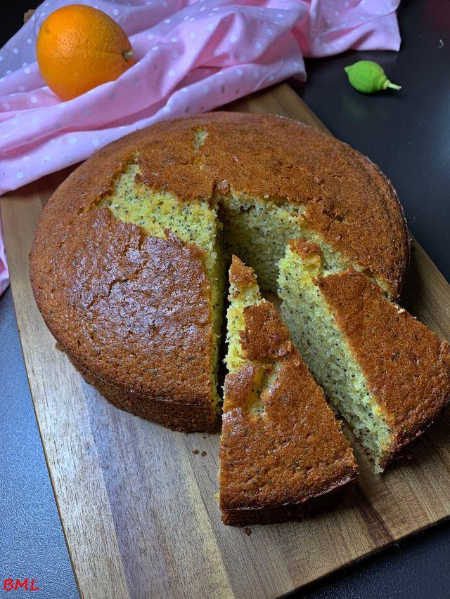 Orangen-Mohn-Kuchen…einfach nur lecker