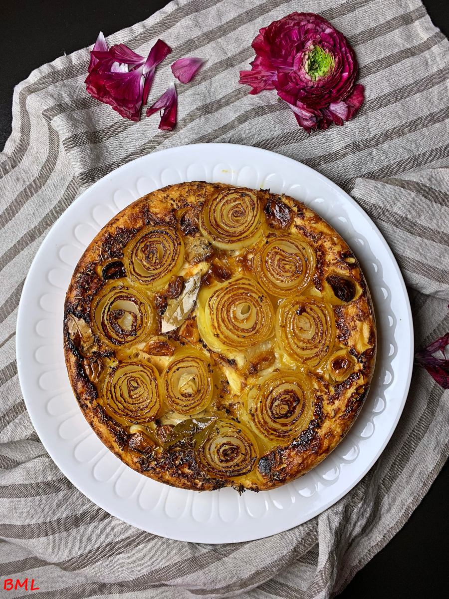 Karamellisierte Zwiebeltarte…vegetarischer Genuss nach Jamie Oliver