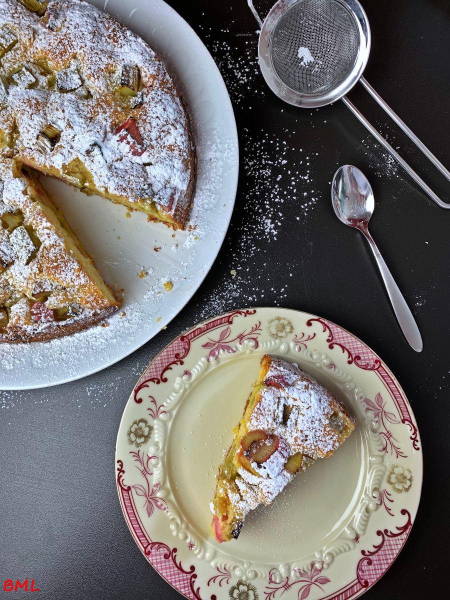 Rhabarber-Skyr-Kucheneinfach und lecker  Backen mit Leidenschaft