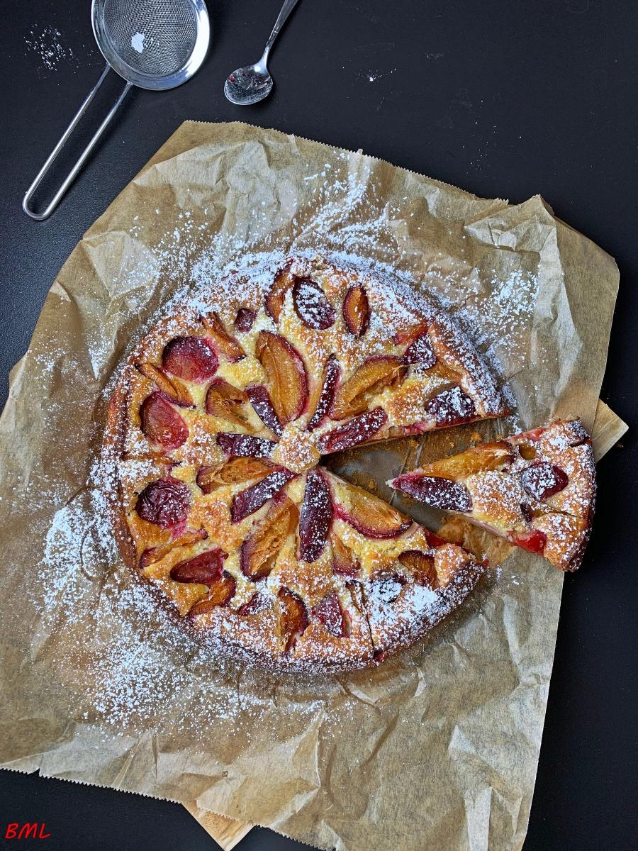 Ricottakuchen mit Zwetschgen…perfekt zum Dessert