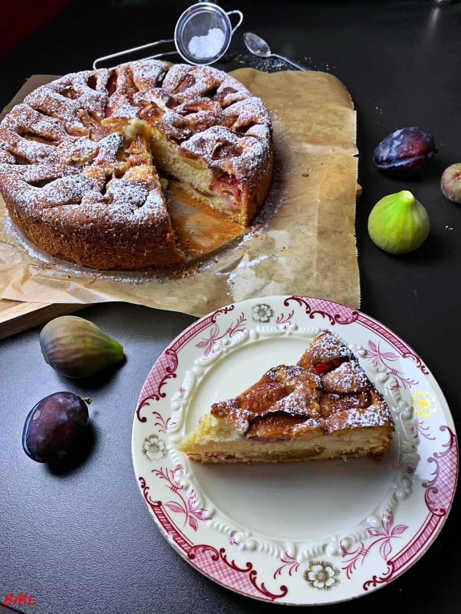 Zwetschgen-Feigen-Kuchen…einfach und lecker