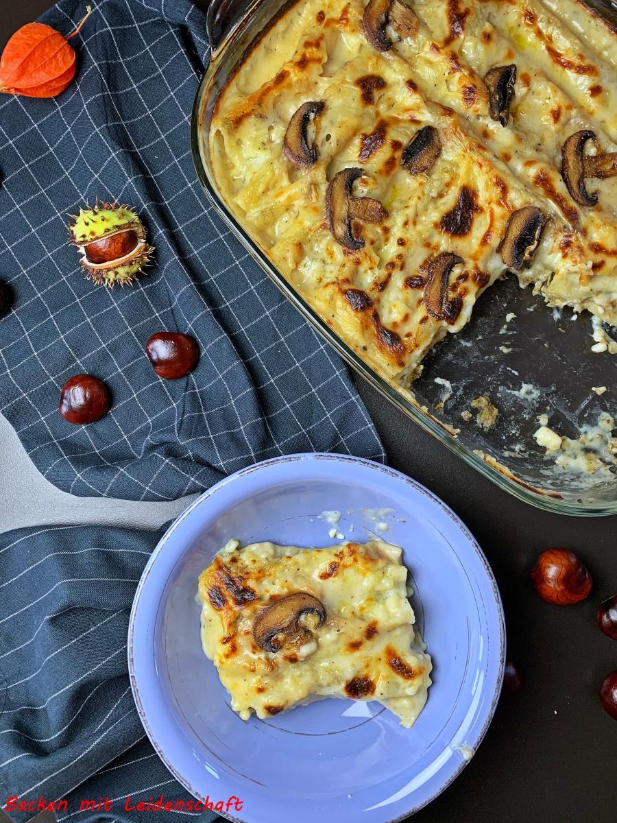 Pilz-Cannelloni…nach Jamie Oliver