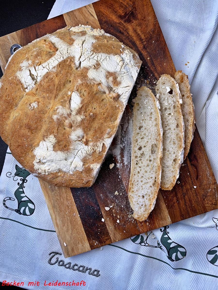 """Toskanisches Brot…aus """" Backen mit Pasta Madre"""""""
