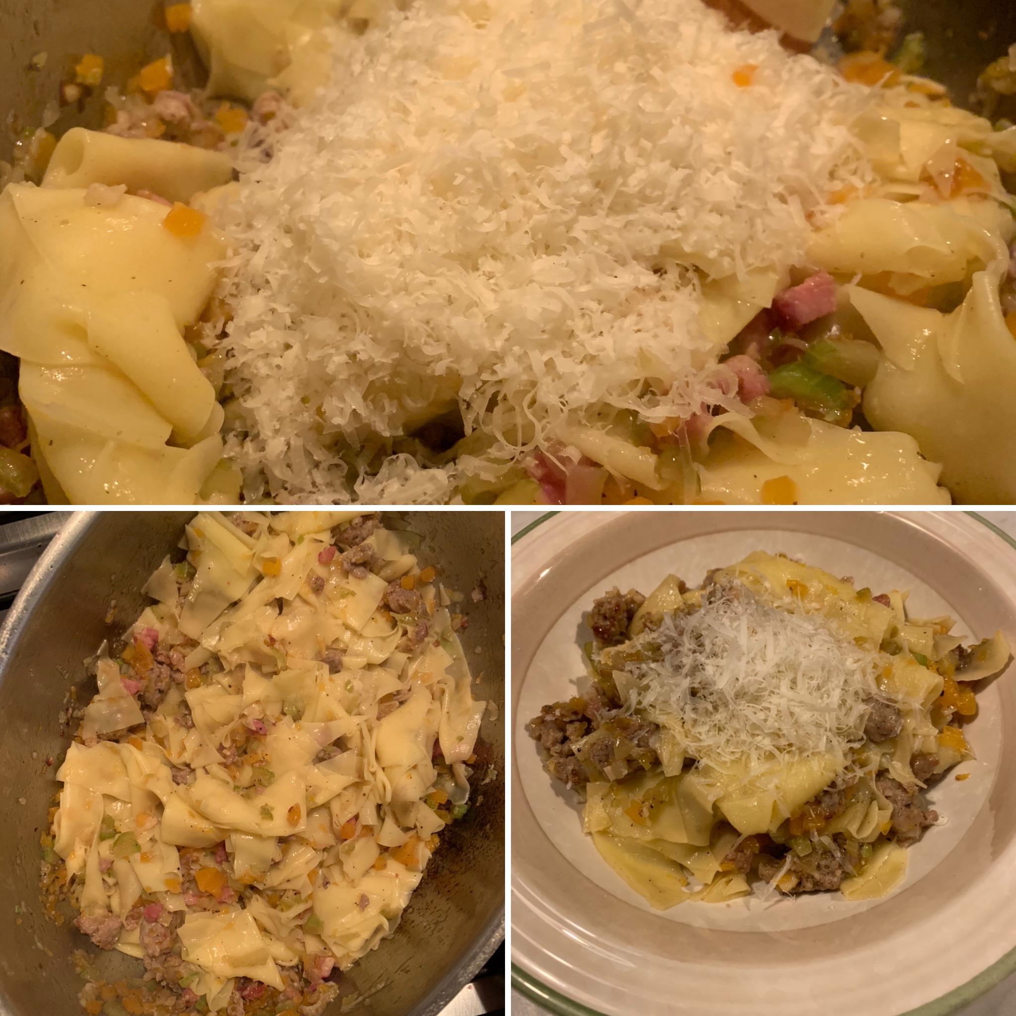 Pasta Kürbis, Salsiccia (12)