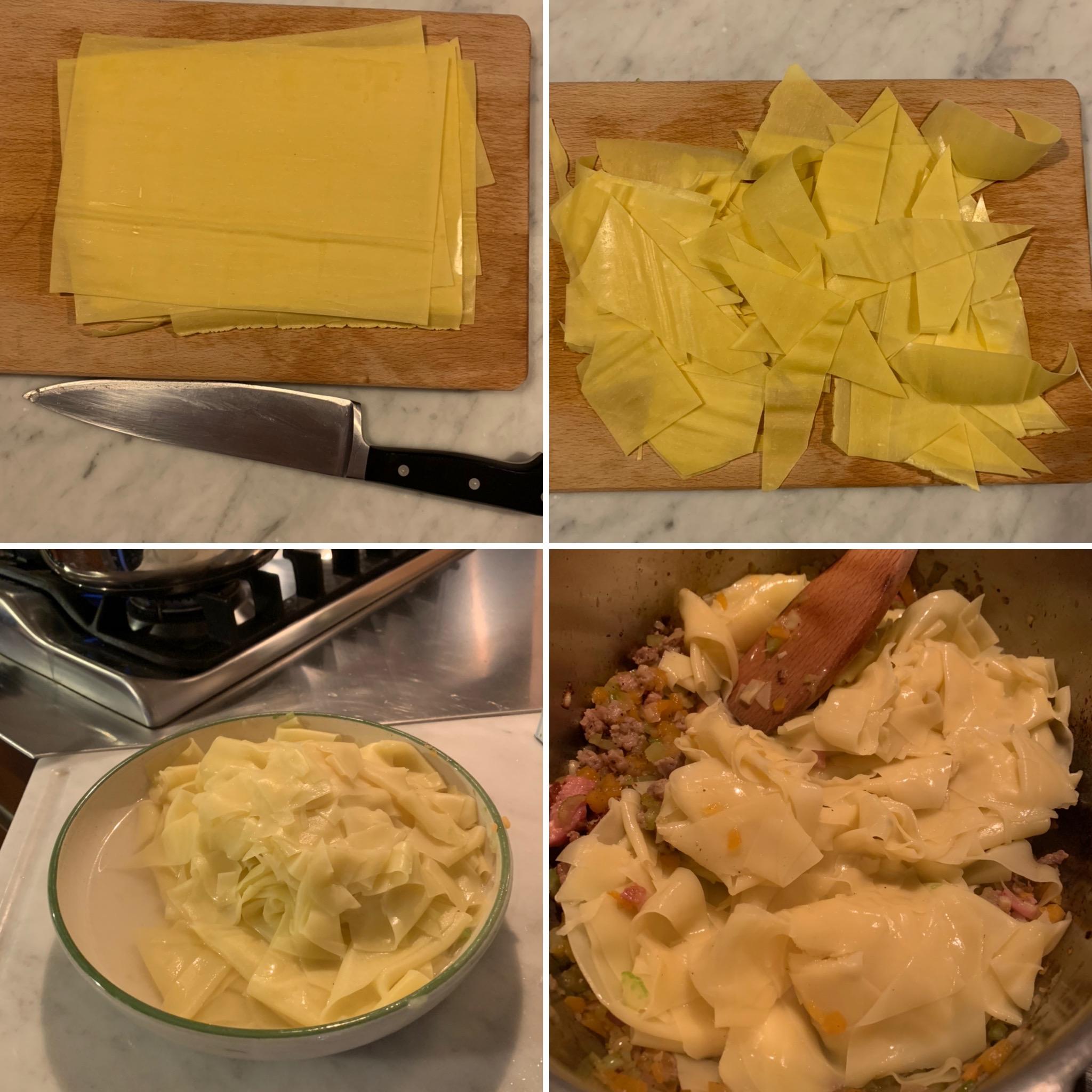Pasta Kürbis, Salsiccia (2)