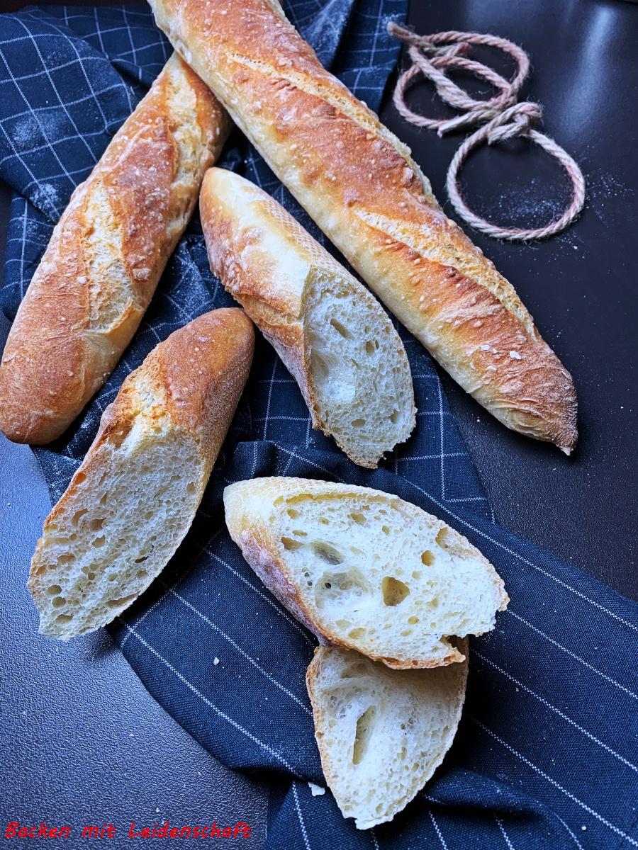 Baguettebrot mit Vorteig…einfach und lecker