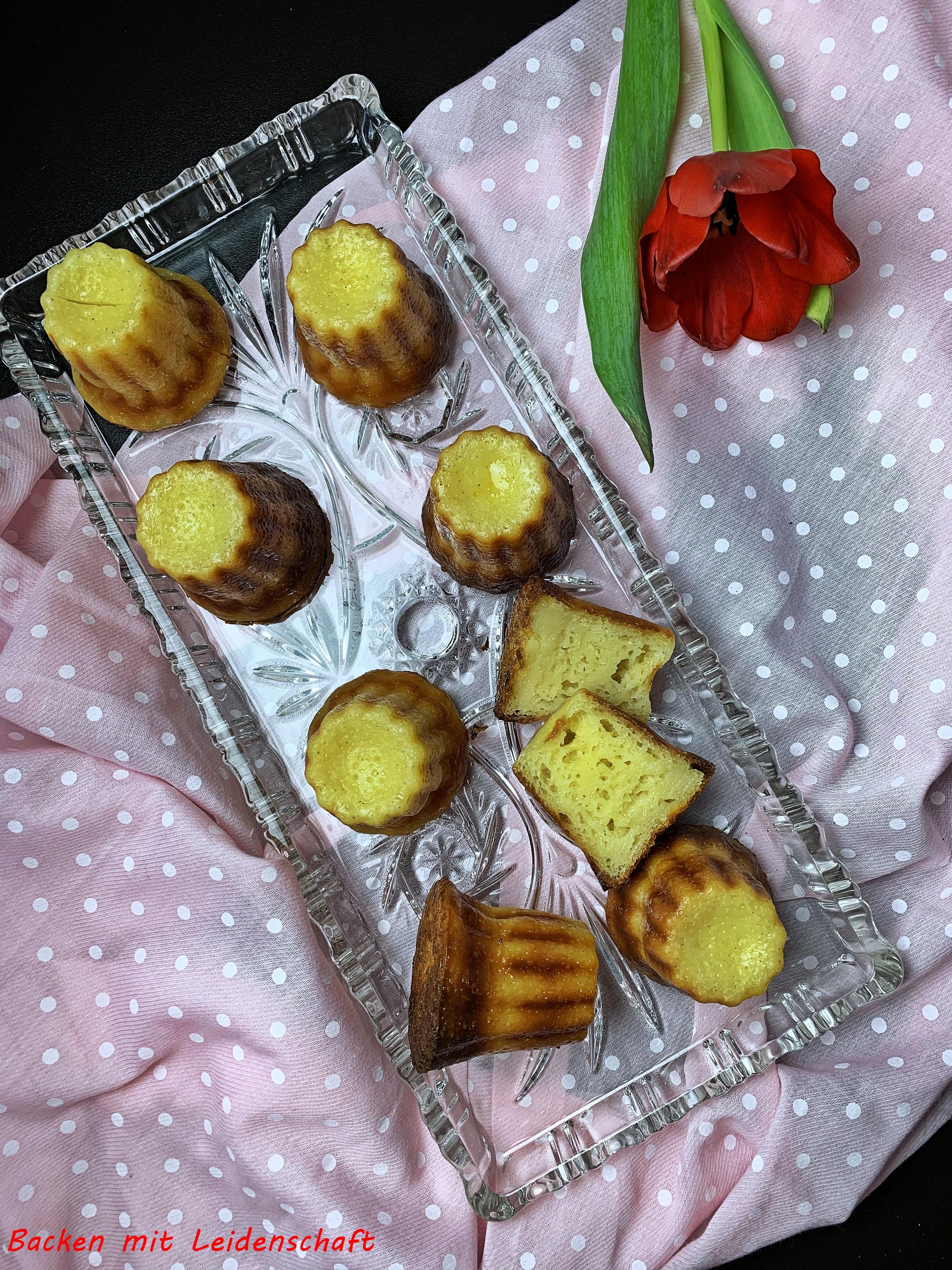 Canelés…kleines, köstliches Gebäck aus Frankreich