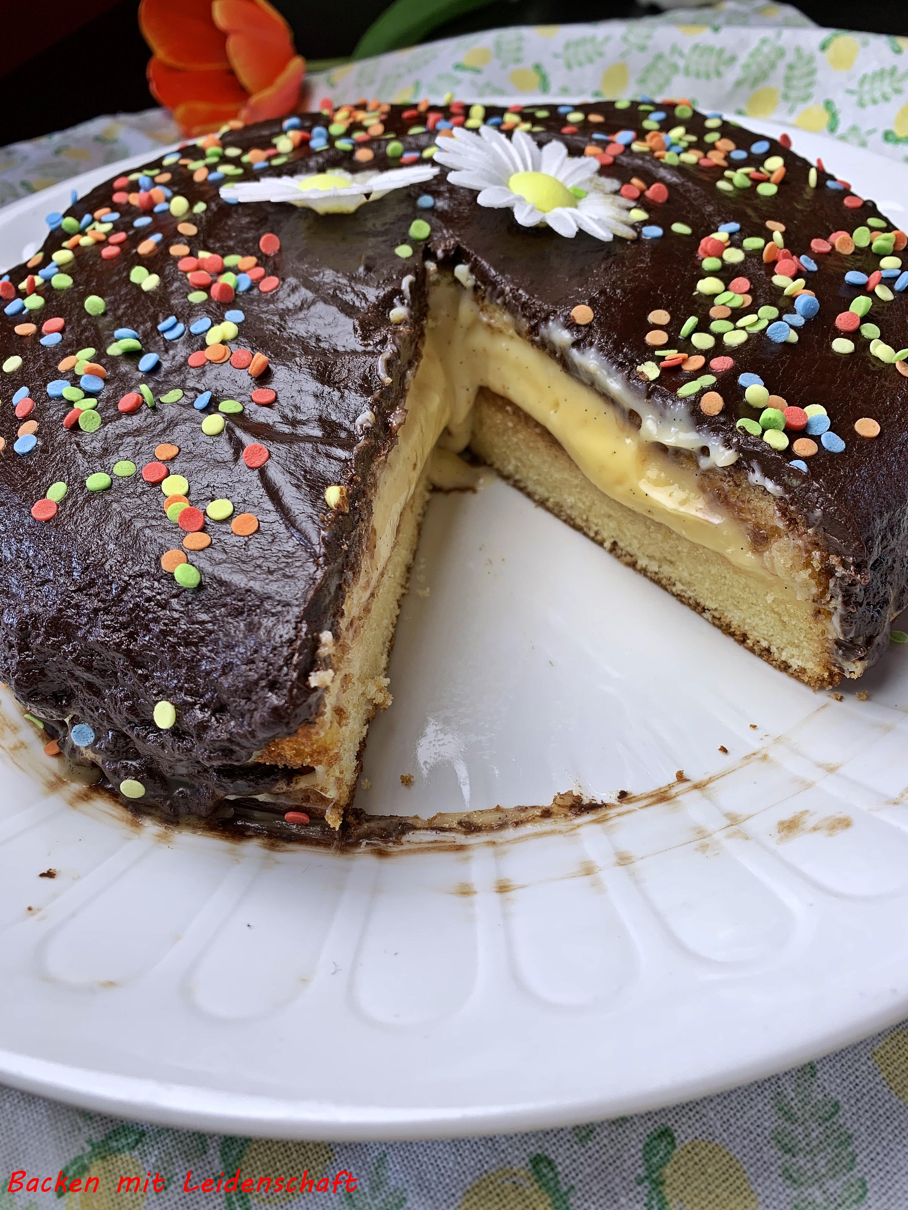 Boston Cream Cake (7)